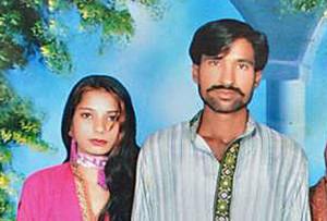 Shahzad and Shama Masih