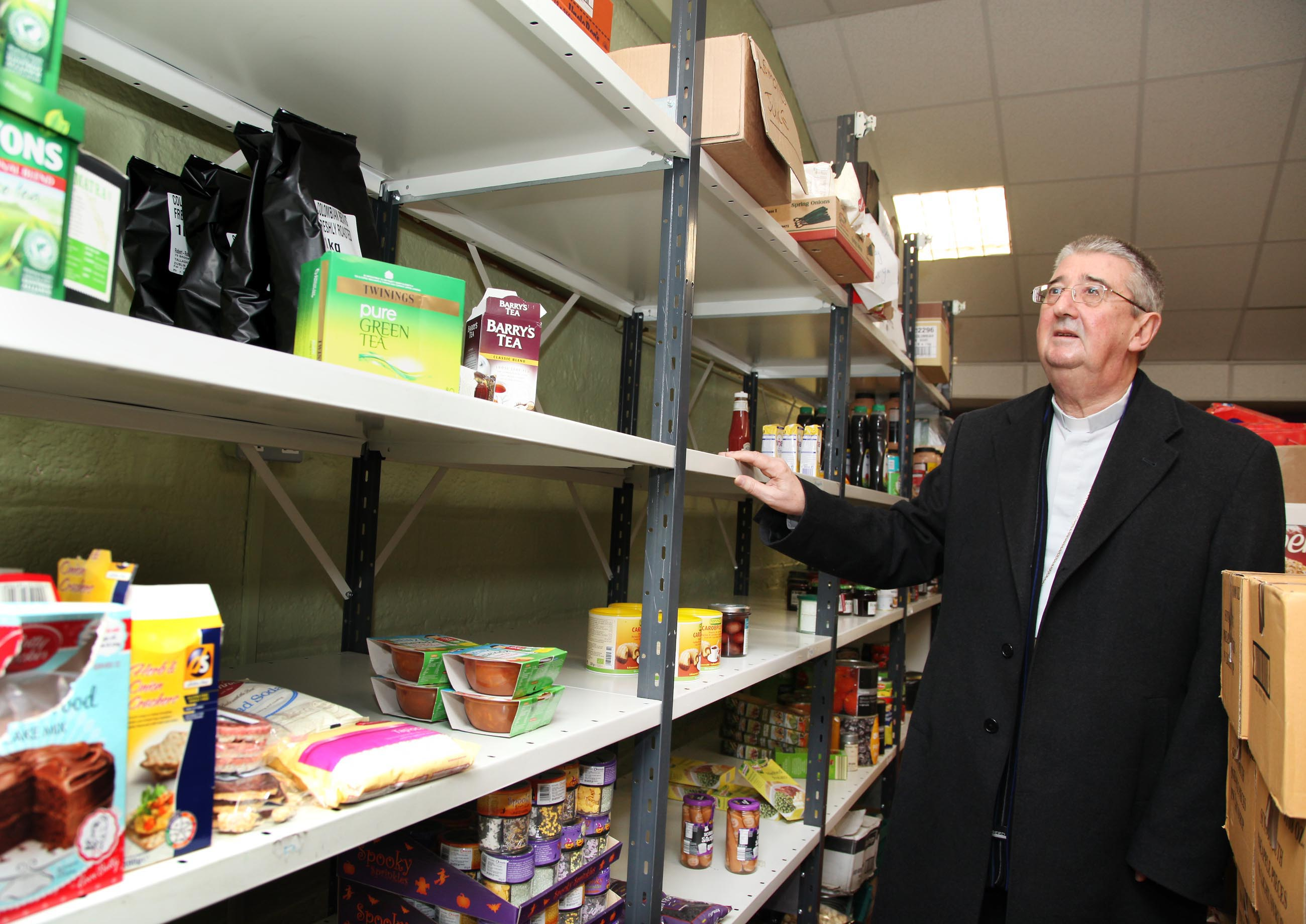 ARCHBISHOP LAUNCHES CHRISTMAS DIOCESAN FOOD APPEAL