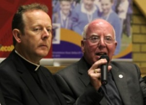 Archbishop of Armagh, Eamon Martin and Bishop of Dromore, John McAreavey