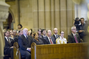 Mass at St Mary's Cathedral for  victims of Sydney Siege