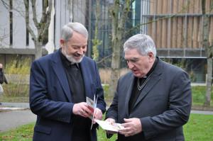 Bishop Doran and Bishop McDaid