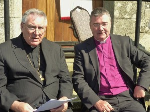 Bishop McDaid and Bishop McDowell of Clogher
