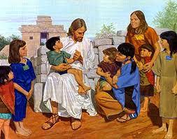 Jesus blessed kids
