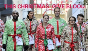 This Christmas give blood