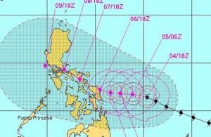 typhoon path