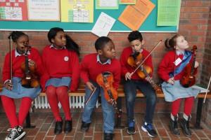 Catholic Schools Week launch at St Ultan's Ballyfermot. Pic: John McElroy