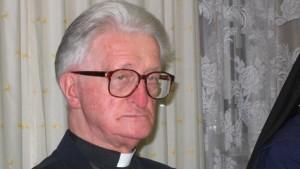 Fr Antoni Mruk, Auschwitz survivor.