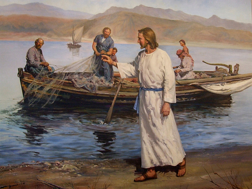 Jesus, Andy&Peter