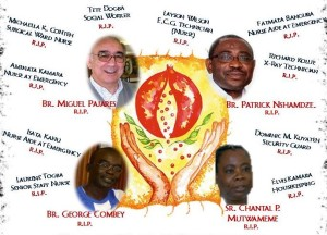 Ebola casualties in St John of God hospitals