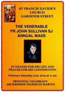 Venerable John Sullivan Annual Mass