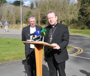Archbishop Diarmuid Martin and Archbishop Eamon Martin. Pic Brenda Drumm