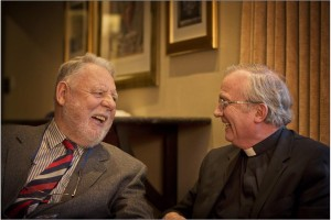 Bishop Donal McKeown and Terry Waite
