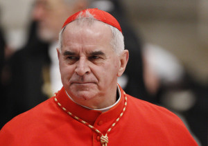 Cardinal Keith O'Brien, former Archbishop of St. Andrews and Edinburgh, Scotland. Photo courtesy: CNS/Paul Haring.