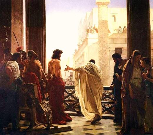 PontiusPilateandJesus