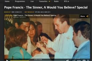 Pope Francis - The Sinner - WYB