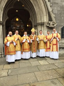Six Dominican deacons ordained