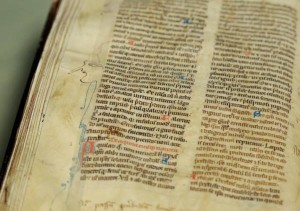 St Mary's Abbey Medieval Manuscript Returns to Dublin after 400 years. Pic: Maxwells.