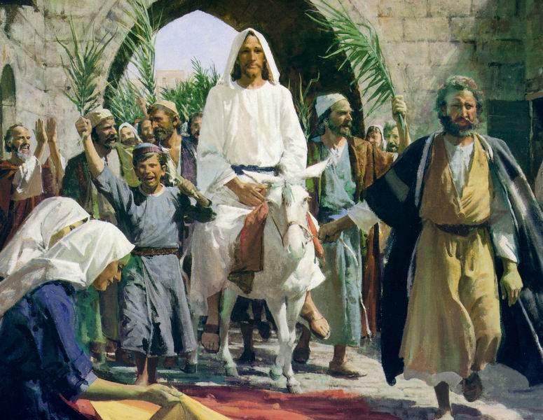 iJesus enters Jerusalem