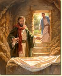 peter in tomb