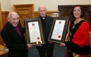 Bishop Edward Daly - Freedom of Derry