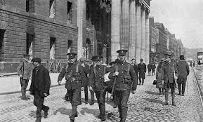 GPO after 1916 - Loyal Volunteers
