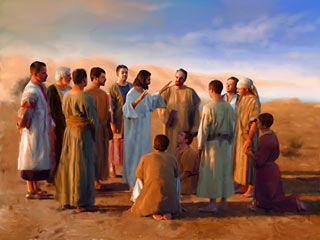 Jesus explainshow the kingdom will grow.