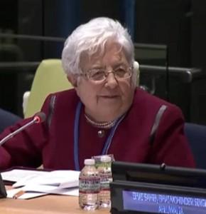 Focolare President, Maria Voce (Emmaus)