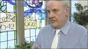 Dr Norman Hamilton, former Moderator Presbyterian Church in Ireland.