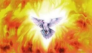 holy spirit comes