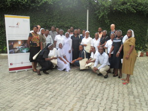 Partcipants at Misean Caras First Learning Event in Nigeria