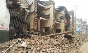 Aftermath of Nepal earthquake. Pic courtesy: World Vision.org