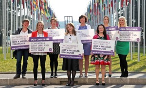 Members of Every Life Counts at launch of Geneva Declaration on Perinatal Care