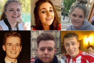 The six victims of the Berkeley tragedy. Pic courtesy: Independent.ie