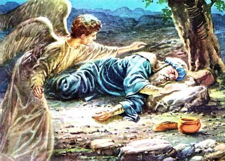 Elijah and bread