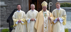 Fr Brian Griffin from the parish of Slieverue who was ordained to the priesthood by Bishop Seamus Freeman on Sunday.
