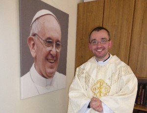 Fr Michael Geraghty, newly ordained priest for the Diocese of Killaloe.