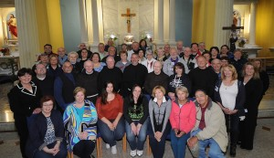 Group Shot Franciscan Abbey with local Franciscans