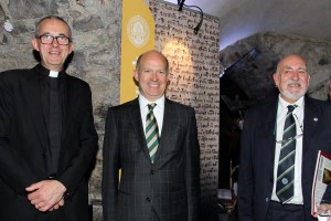 Dean Dermot Dunne of Christ Church Cathedral and the British Ambassador Dominick Chilcott. Pic courtesy: Lynn Glanville.