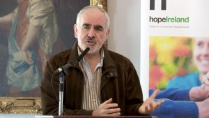 Professor Des O Neill speaking at the inaugural Hope Ireland conference on euthanasia in the RDS on Saturday, 6th June. Pic: Susan Hegarty.