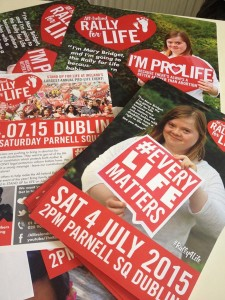 Rally for Life posters