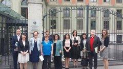 Some of the NGO representatives at the UN