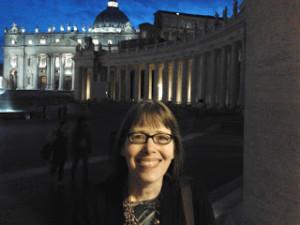 Dawn Eden  in Rome 2015