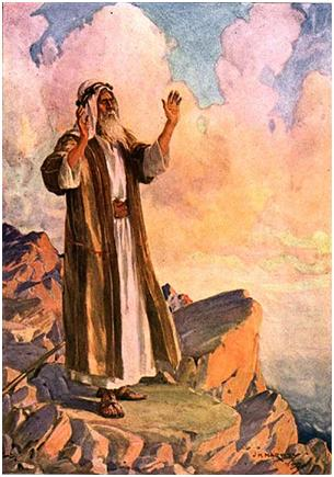 moses prays for his people