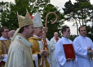 Archbishop Eamon Martin and Archbishop Charles Brown