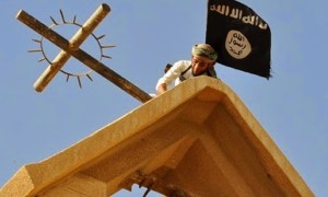 ISIS destroying Iraqi Christian churches