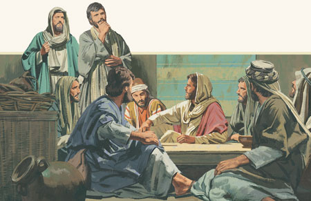 Jesus teaches apostles1