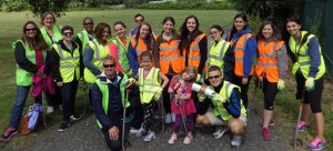 Student volunteers from Seton Hall University doing Servant Leadership Programme in Limerick