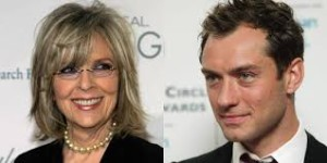 The Young Pope actors, Jude Law and Diane Keaton.