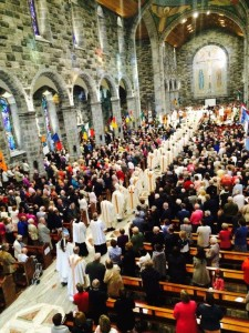 Galway Cathedral Jubilee Mass Opening Procession