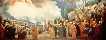 Moses and elders